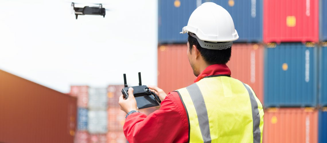 drone surveying equipment