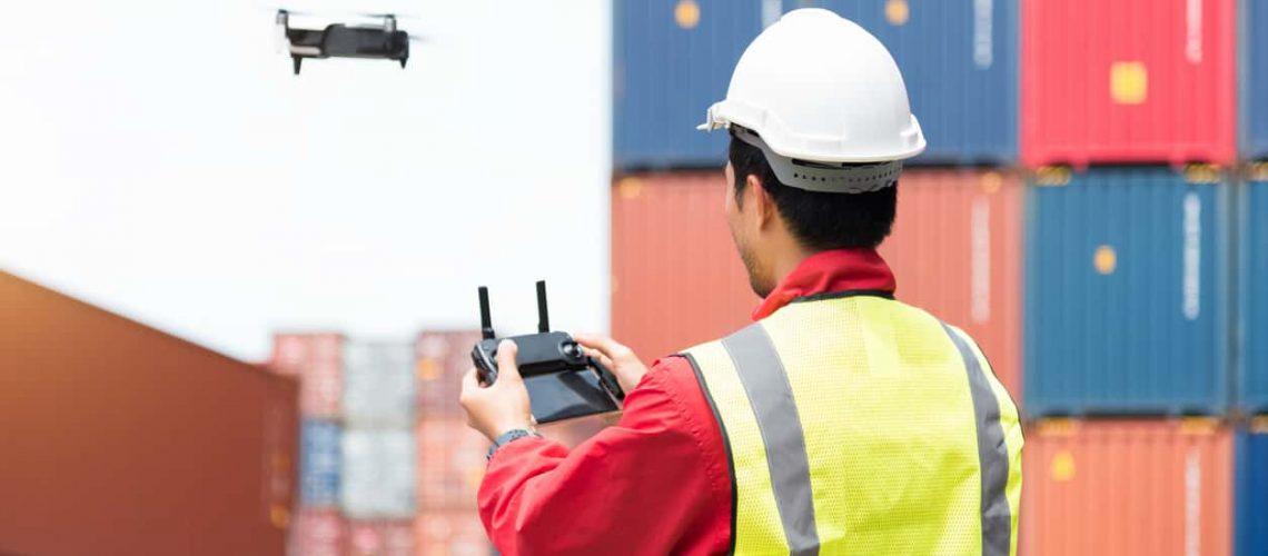 drone surveying equipment